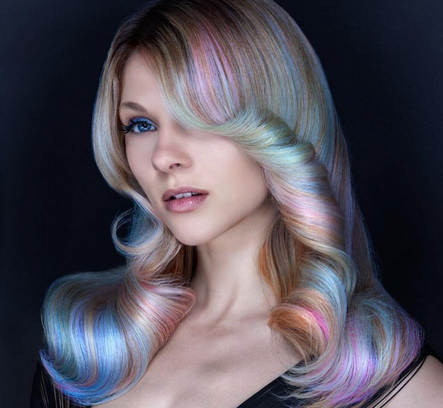Opal-and-mother-of-pearl-hair-color